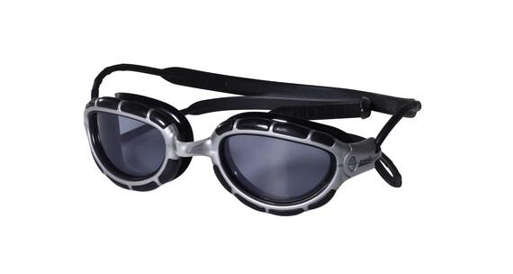 Zoggs Predator Small Goggle silver/black